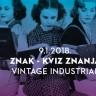 Znak - pub kviz znanja - 9.1. Vintage Industrial
