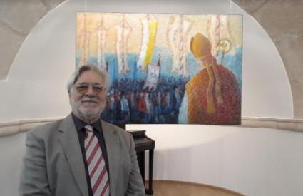 Mišo Baričević u galeriji Sebastian