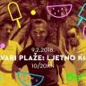 Ljetno Kino, biciklisti, klub okićen u plažu - petak 9.2.2018. VIB