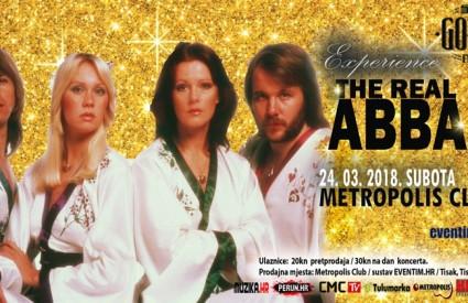 ABBA vam je super? Onda svi u Metropolis! :)