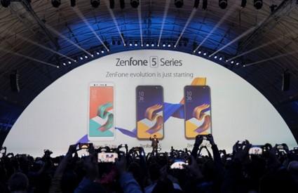 Stigla tri nova pametna telefona iz Asusa
