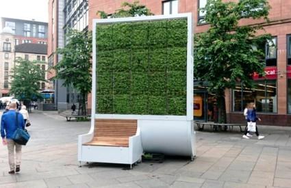 City Tree klupa koja uklanja smog