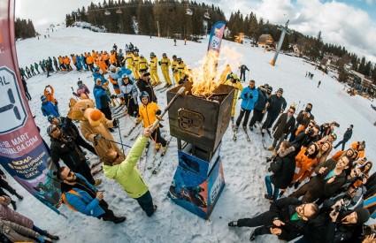 Sjajna zabava na olimpijskoj planini
