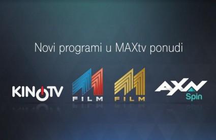 Novosti u MaxTV ponudi