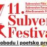 11. Subversive Film Festival od. 6. do 14. svibnja