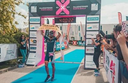 Andrej Vištica opet prvak Hrvatske u triatlonu