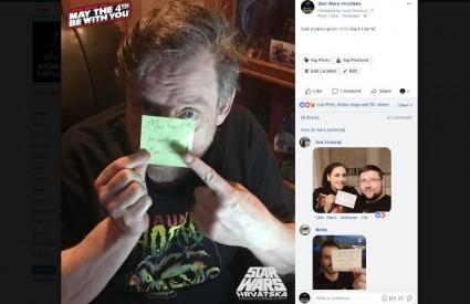 Luke je poslao čestitku