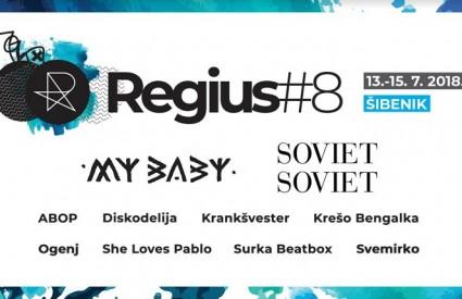 Impresivan lineup Regius festivala