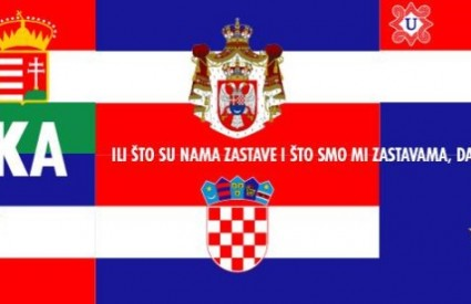 Krleža, ili što su nama zastave i što smo mi zastavama, da tako za njima plačemo