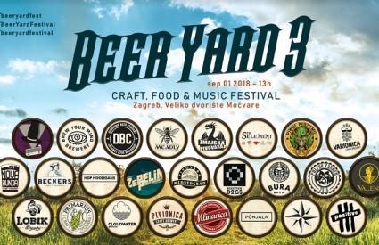 Dođite na treći BeerYard