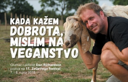 Dan Richardson poziva na 11. ZeGeVege festival