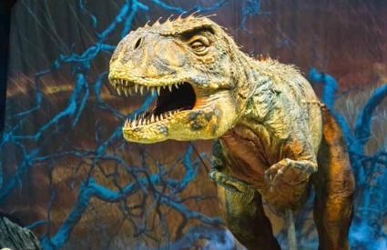 Spektakularni dinosauri šetat će Arenom u ožujku