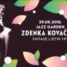 Zdenka Kovačićek sutra u Jazz Gardenu