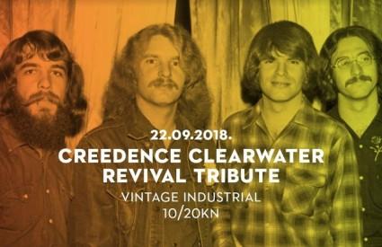 Najbolji europski CCR Tribute u Vintage Industrialu