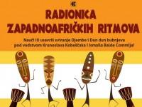 Jesenski ciklus radionica zapadnoafričkih ritmova