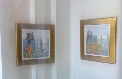 Josip Pino Trostmann u Galeriji Mala