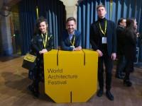 Brigada u finalu Svjetskog Arhitektonskog Festivala u Amsterdamu