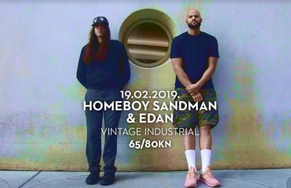 Homeboy Sandman & Edan sutra u Vintage Industrialu