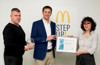 Prestižni certifikat za McDonalds