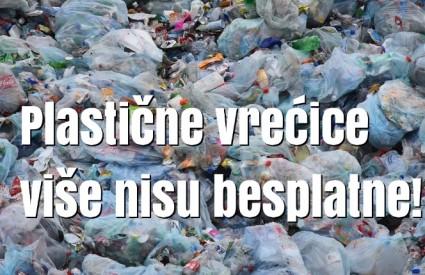 Plastične vrećice moraju se naplaćivati