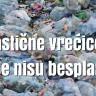 Plastična vrećica ne smije biti besplatna!