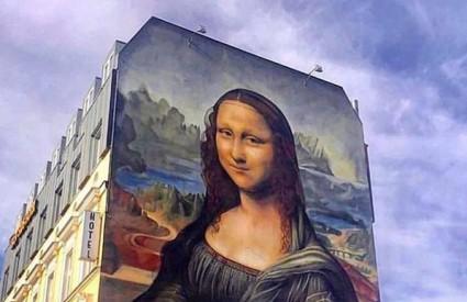 170 kvadrata Mona Lise :)