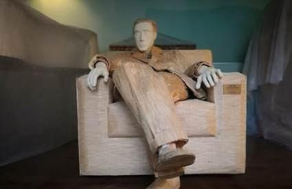 Kum je prva skulptura Tomislava Horvata