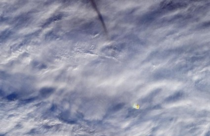 Meteor iznad Beringovog mora