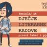 Natječaj za dječje literarne radove