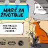 Marš za životinje 13. travnja u Zagrebu