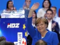 Plenković između Merkel i Bleiburga