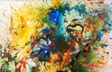 Hommage Jacksonu Pollocku