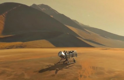 Vilinski konjic treba se spustiti na Titan