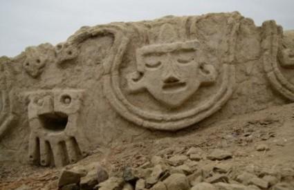 Drevni reljef izgubljene civilizacije Caral