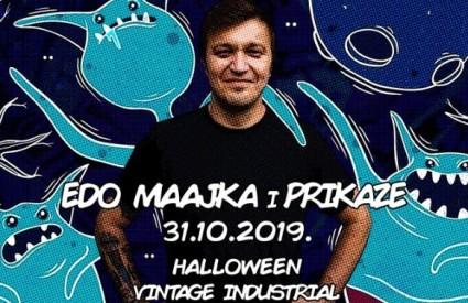 Edo Maajka na Halloween u Vintage Industrialu