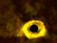 Gladna crna rupa možda je svemirska karika koja je nedostajala