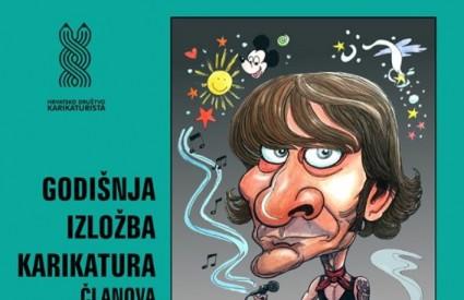 Godišnja izložba karikatura članova HDK