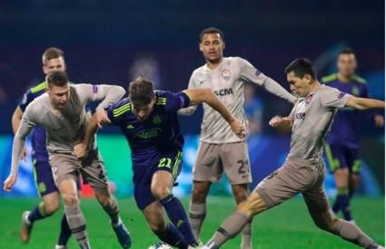 Dinamo u nadoknadi ispustio dva gola prednosti protiv Shakhtara