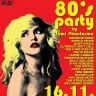 80's Party u subotu 16.11. u Boogaloou
