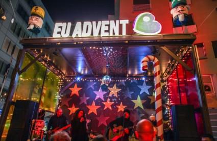 Advent na Europskom trgu