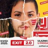 EXIT Festivalodržat će se od 13. do 16. kolovoza 2020.