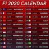 Kalendar utrka Formule 1 za 2020. godinu