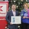 Kauflandu 4. godinu zaredom uručen Certifikat Poslodavac Partner