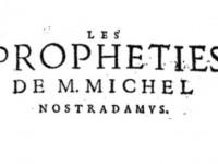 Nostradamus - predviđanja za 2020. godinu