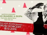 Rundek dobio dodatni božićni koncert u Vintage Industrialu
