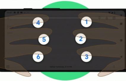 Brailleova tipkovnica