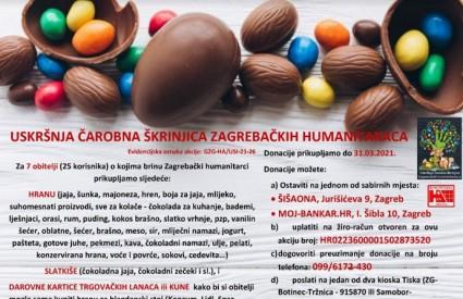 Uskršnja čarobna škrinjica zagrebačkih humanitaraca