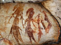Najstariji australski spiljski crtež