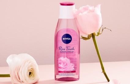 NIVEA Rose Touch liniju proizvoda za njegu i čišćenje kože