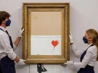 Izrezani Banksy prodan za više od 21 milijun eura